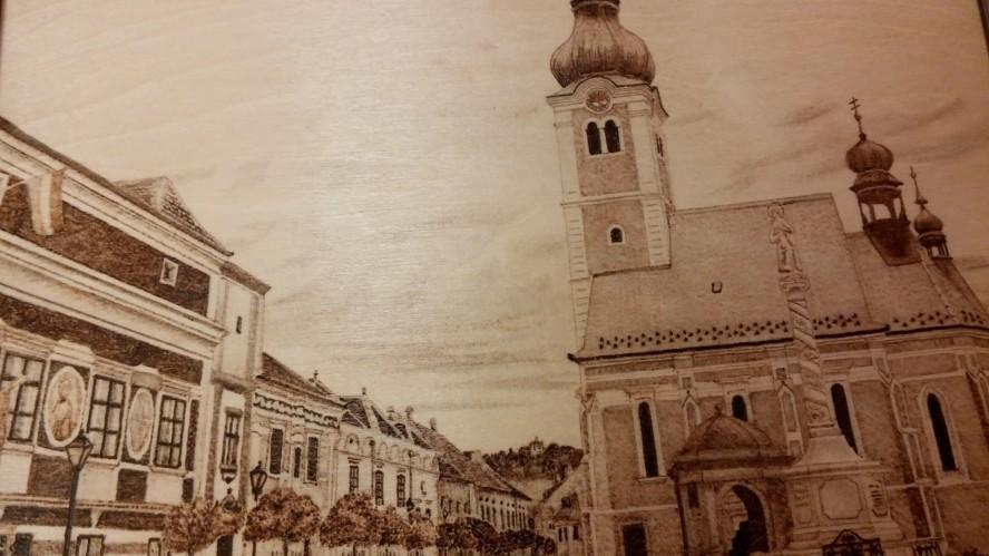 Kőszeg belvárosa